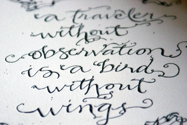 quotes written in calligraphy - photo #36