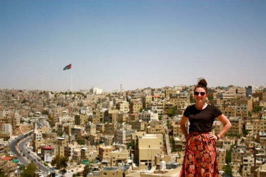 Christine Amorose in Amman