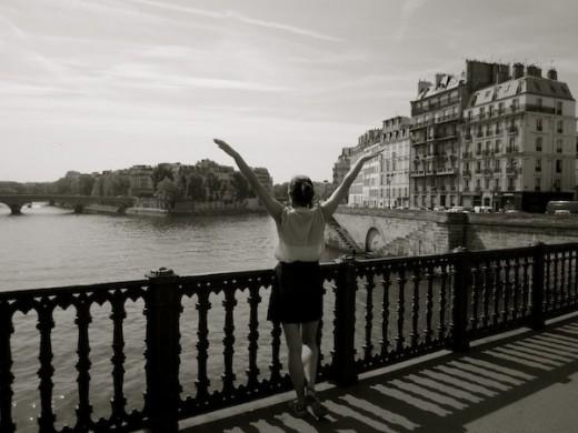 Christine Amorose in Paris