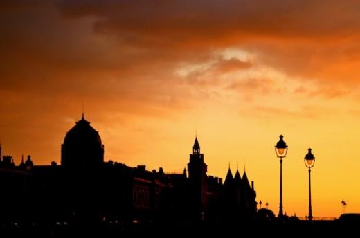 Paris Sunset _ CAmorose