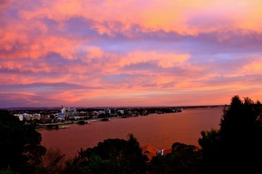 Perth Sunset _ CAmorose