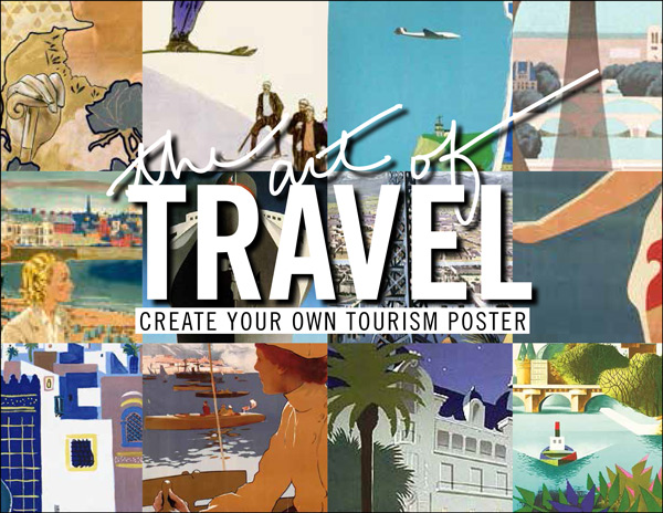 The Art of Travel Posters | Prêt à Voyager
